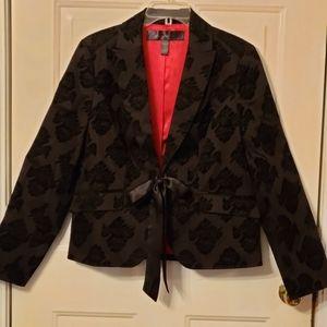 Apostrophe Velvet Cutout Jacket size 14